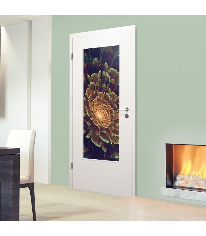 Bekannt Glaseinsatz für Holztür 1002-1-LA Blume RQ88