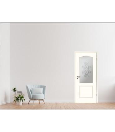 Türen Stiltuer Typ_4002_B_LA_Sandstr ahlFlorale