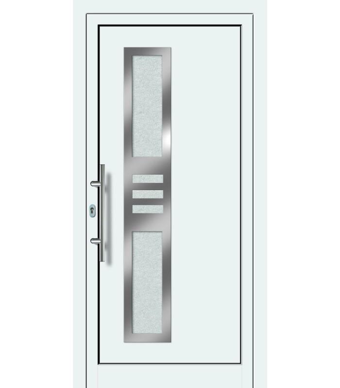 Aluminium-Haustür FDM-22 weiß