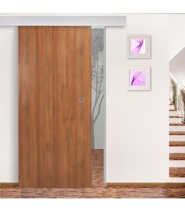 Holzschiebetür Gold Cedar mit ALU60-H Schiebesystem