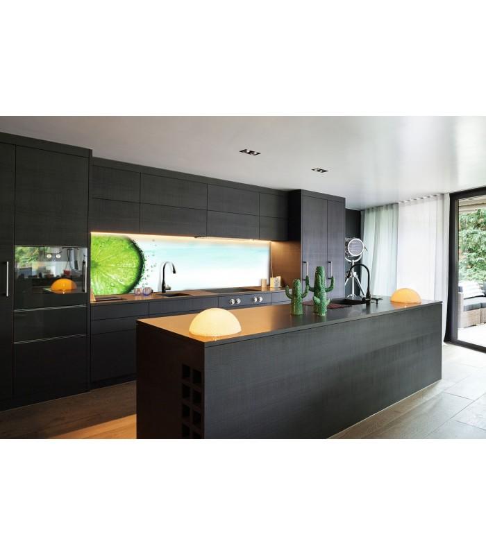 Digitaldruck 1012-1 ESG Küchenrückwand Spritzschutz