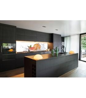 Digitaldruck 1015-1 ESG Küchenrückwand Spritzschutz