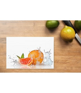 Schneidunterlage Digitaldruck ESG Motiv Orangen