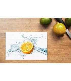 Schneidunterlage Digitaldruck ESG Motiv Zitrone