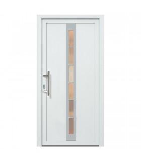 Kunststoff-Haustür FDM-20 weiß  980 x 2000 mm Lichtausschnitt