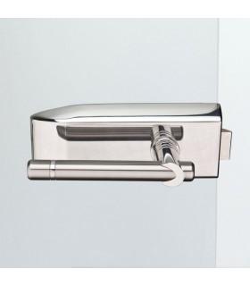 Beschlag für Ganzglasdrehtür - V100E.CH.UV-Delphi - Chrom poliert