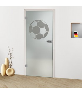 Glastür Ball