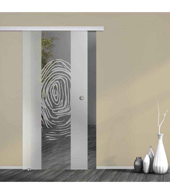 Schiebetür Fingerprint 7006-F mit AG50