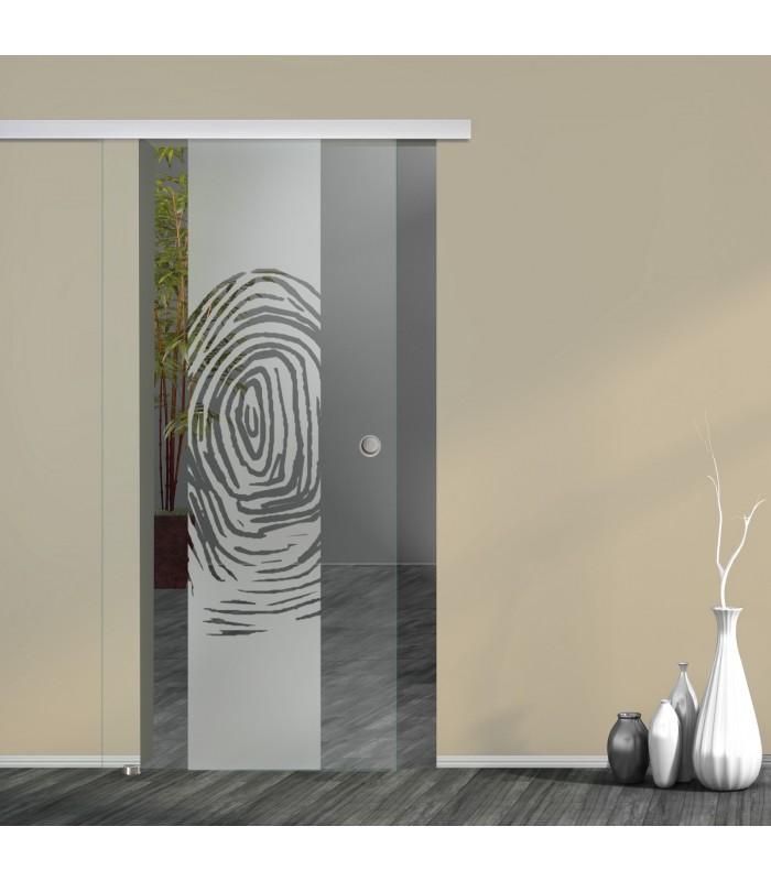 Schiebetür Fingerprint 7006-F2 mit AG50