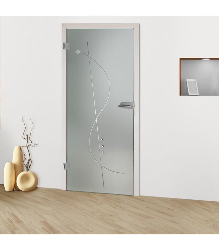 """Glastür """"Notenschlüssel 8005-S"""""""