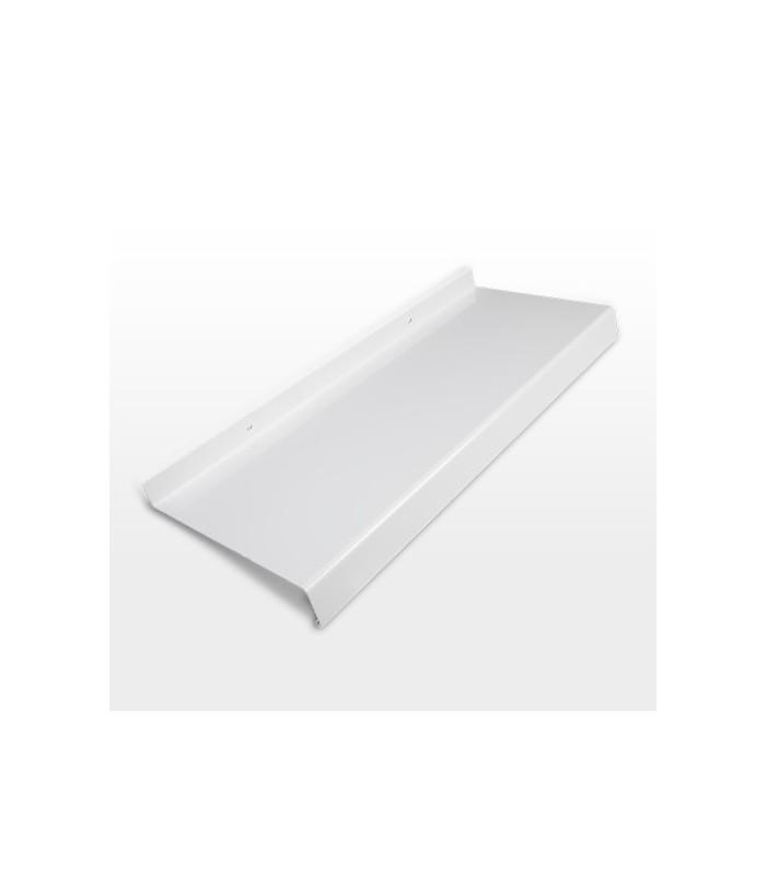 Aluminium-Fensterbank weiß